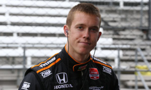 Jack Hawksworth will not race in Sunday's Verizon IndyCar Series race at Pocono Raceway because of injuries suffered in a practice crash Saturday. (IndyCar Photo)