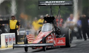 Spencer Massey will attempt to win in the NHRA Top Fuel division at Bandimere Speedway in Colorado for the second consecutive year. (NHRA Photo)