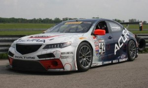 The new Acura TLX GT race car will debut this weekend at the Mid-Ohio Sports Car Course. (Acura Photo)