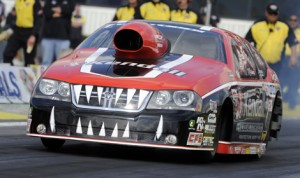 V Gaines is hoping a trip home to Denver, Colo., will turn around his luck in the NHRA Pro Stock class this season. (NHRA Photo)