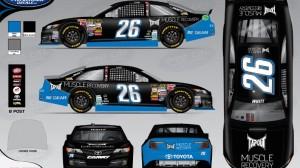 Axxess Pharma joins Cole Whitt's BK Racing team as a  sponsor. (BK Racing photo)