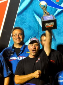 Shawn Bowen bested Jason Rupert to claim the IHRA Nitro Funny Car class victory Saturday at Cordova Dragway Park. (IHRA Photo)