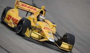Ryan Hunter-Reay's victory Saturday at Iowa Speedway could be just the push he needs in order to win the 2014 Verizon IndyCar Series title. (Al Steinberg Photo)