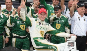 Mike Conway scored his second Verizon IndyCar Series victory of the year Sunday in Toronto. (Al Steinberg Photo)