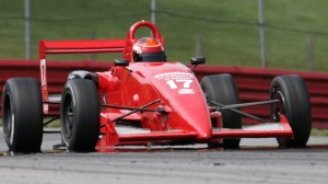 John LaRue was the class of the F2000 field when it mattered on Saturday. (SCCA photo)