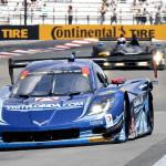 Richard Westbrook and Michael Valiante drove the No. 90 Spirit of Daytona Racing Corvette DP to victory Sunday at Watkins Glen Int'l. (Joe Proietti Photo)
