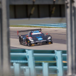 The Wayne Taylor Racing Corvette DP shared by Ricky and Jordan Taylor during Sunday's TUDOR United SportsCar Championship race at Watkins Glen Int'l. (Ted Rossino Photo)