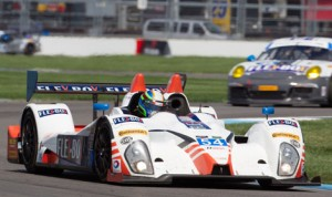 Colin Braun claimed the Prototype Challenge class pole at Indianapolis Motor Speedway Thursday. (Ted Rossino Jr. Photo)