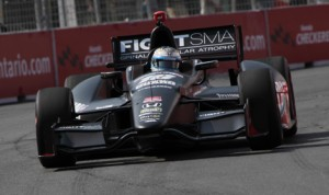 IndyCar has fined Rahal Letterman Lanigan Racing $5,000 for an infraction discovered Luca Filippi's car in Toronto. (IndyCar Photo)