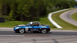 Kenton Koch sped to the pole Friday at Canadian Tire Motorsport Park. (SCCA photo)
