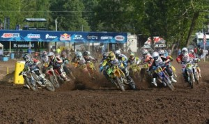 Motocross competition was fast and furious Wednesday at the the 33rd annual Rocky Mountain ATV/MC AMA Amateur National. (AMA photo)