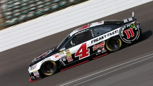 Kevin Harvick won his fourth pole of the season on Saturday. (HHP/Harold Hinson photo)