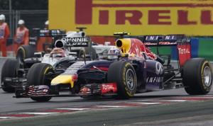 Daniel Ricciardo on his way to winning Sunday's Hungarian Grand Prix. (Steve Etherington Photo)
