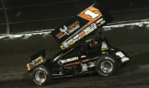 Sammy Swindell will shift his attention to racing at Knoxville (Iowa) Raceway the next few weeks in order to prepare for the 2014 Knoxville Nationals next month. (Julia Johnson Photo)