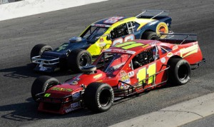 Andy Seuss (11) and George Brunnhoelzl III are once again battling for the NASCAR Whelen Southern Modified Tour championship. (NASCAR Photo)