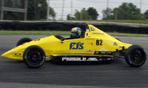 Augie Lerch earned his first F1600 Formula F Championship Series victory Sunday at the Mid-Ohio Sports Car Course. (Jeff Loewe Photo)