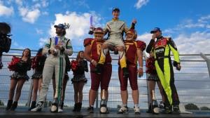 Dupont won his first NASCAR Whelen Euro Series race at Tours Speedway. (Stephane Azemard photo)