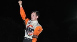 """Joe B. Miller grabbed his fourth USCS 600 Micro-Sprint Series victory of the season Thursday night at Crowley's Ridge Raceway during the """"Rumble at the Ridge"""". (Scott Frazier photo)"""