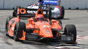 Simon Pagenaud paced Verizon IndyCar Series practice on Friday in Toronto. (Al Steinberg photo)