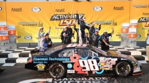 Mason Mitchell scored his first ARCA Racing Series win on Saturday. (Bradley Rahm photo)