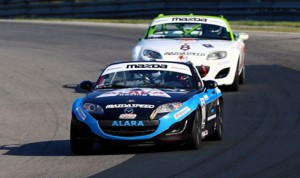 Kenton Koch drove to his fifth SCCA Pro Racing Mazda MX-5 Cup victory Saturday at Canadian Tire Motorsports Park. (Al Merion Padron Photo)