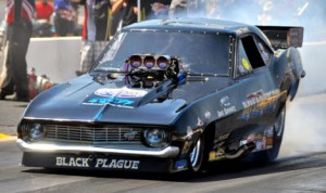 The IHRA Nitro Jam Summer Nationals will feature one of the largest Nitro Funny Car fields of the season this weekend. (IHRA Photo)