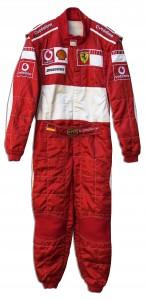 Schumacher firesuit