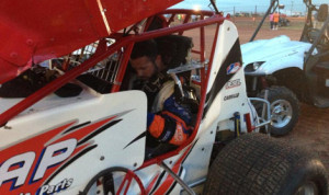 After spending eight years drag racing, Cody Wampler made his return to dirt track racing during ASCS competition at Lawton (Okla.) Speedway on June 18.