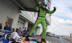 Thomas Ferrando swept both NASCAR Whelen Euro Series ELITE 2 events at the Nurburgring this weekend. (Stephane Azemard Photo)