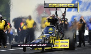 Richie Crampton is looking for a victory this weekend as the NHRA Mello Yello Drag Racing Series heads to Brainerd Int'l Raceway. (NHRA Photo)