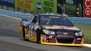 Tony Stewart, pictured during Sprint Cup practice at Watkins Glen Int'l on Saturday, will not race on Sunday. (HHP/Christa L Thomas photo)
