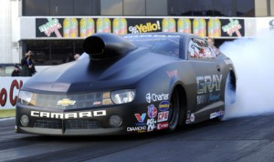 Dave Connolly will attempt to win the NHRA Pro Stock portion of the U.S. Nationals again this weekend at Lucas Oil Raceway. (NHRA Photo)