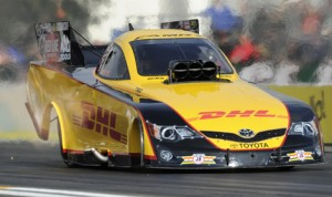 Del Worsham is looking to break out of a recent slump this weekend in Minnesota. (NHRA Photo)