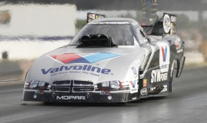 Former NHRA Funny Car world champion Jack Beckman has yet to clinch a spot in the NHRA Countdown To The Championship. (NHRA Photo)