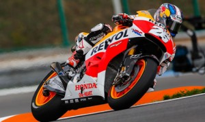 Dani Pedrosa finally put an end to the winning streak of Marc Marquez Sunday in the Czech Republic. (MotoGP Photo)
