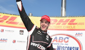 Will Power dominated Sunday's Verizon IndyCar Series ABC Supply Wisconsin 250 at The Milwaukee Mile. (Al Steinberg Photo)