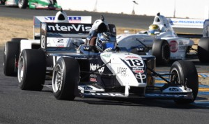 Kyle Kaiser earned his first Pro Mazda Championship victory Friday afternoon at Sonoma Raceway. (Al Steinberg Photo)