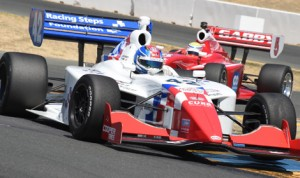 Jack Harvey was unbeatable during Indy Lights competition Saturday at Sonoma Raceway. (Al Steinberg Photo)