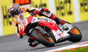 Marc Marquez scored his 11th MotoGP triumph of the year Sunday at the Silverstone Circuit. (MotoGP Photo)