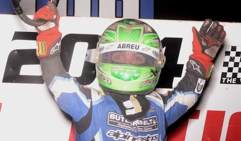 Rico Abreu won Saturday's Belleville Midget Nationals. (Ken Simon photo)