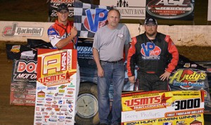 Terry Phillips captured Friday's United States Modified Touring Series event at Batesville Motor Speedway. (USMTS Photo)