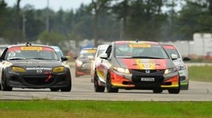 Pirelli World Challenge action at Brainerd featured competitive racing all day. (SCCA photo)