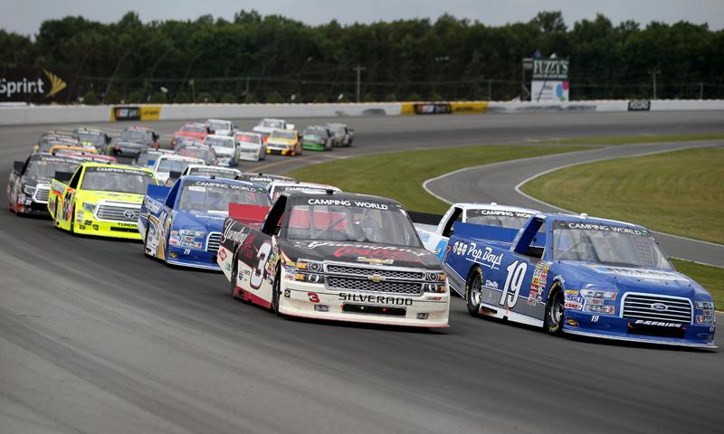 Austin Dillon Tyler Reddick NASCAR Camping World Truck Series ...