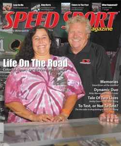Steve & Dana Kinser graced the cover of the August 2014 edition of SPEED SPORT Magazine.