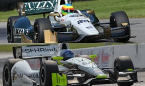 If word in the Verizon IndyCar Series garage is true, then Ed Carpenter Racing and Sarah Fisher Hartman Racing could soon be merging into one team. (IndyCar Photos)