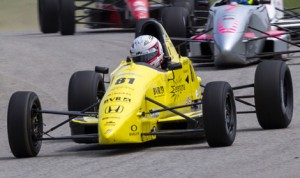 Ayla Agren was awarded the victory in Sunday's F1600 Formula F Championship Series race at the Pittsburgh Int'l Race Complex after the top two finishers were both penalized. (F1600 Photo)