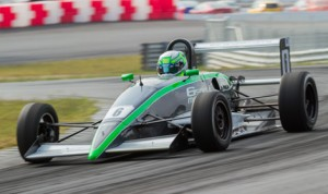 Skylar Robinson won both F2000 Championship Series races at Thompson (Conn.) Speedway Motorsports Park. (F2000 Photo)