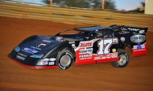 Dale McDowell won Thursday night's Scorcher 50 at Tennessee's Volunteer Speedway. (Michael Moats photo)