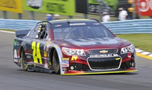 Jeff Gordon will start from the pole for Sunday's NASCAR Sprint Cup Series event at Watkins Glen (N.Y.) Int'l. (Dennis Bicksler Photo)