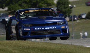 Eric Curran and Lawson Aschenbach topped Saturday's Continental Tire SportsCar Challenge event at Road America Saturday. (Richard Dole/LAT Photo)